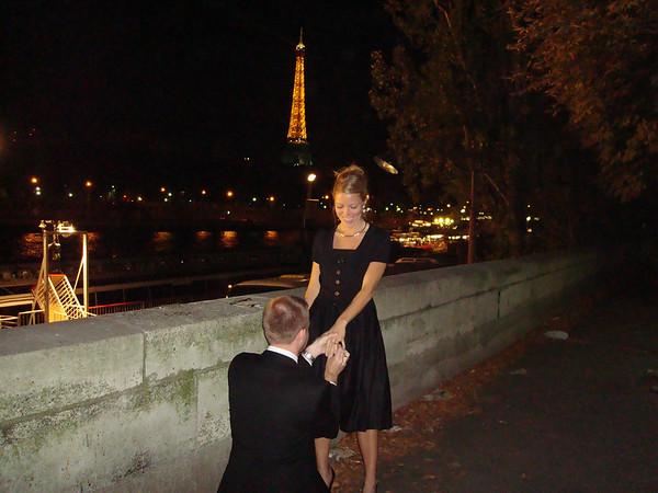 Ginnie Gets Her Ring - in Paris!